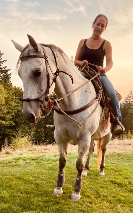 Kota, American Quarter Horse Mare for sale in Washington