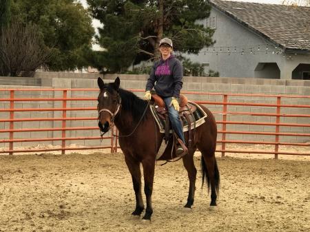 JR Cash, Quarter Horse Cross Gelding for sale in Nevada