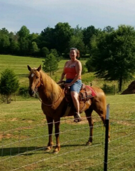 Mystic, Appendix Quarter Horse Mare for sale in South Carolina